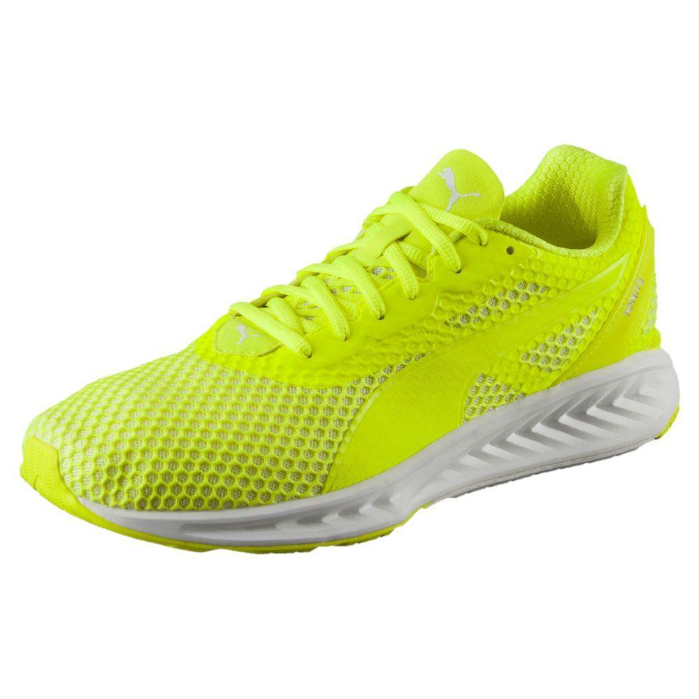 Puma Chaussures Running IGNITE 3 2017 Safety Yellow-Puma White 9,5 (UK)