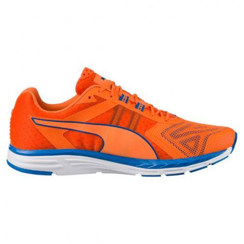 Puma Schuhe Speed 500 Ignite Pwrcool Orange-French Blue Tifoshop