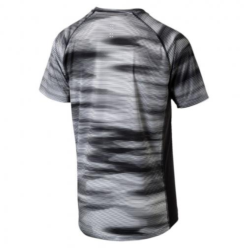 Puma T-shirt Graphic S/s Puma Black Heather Tifoshop