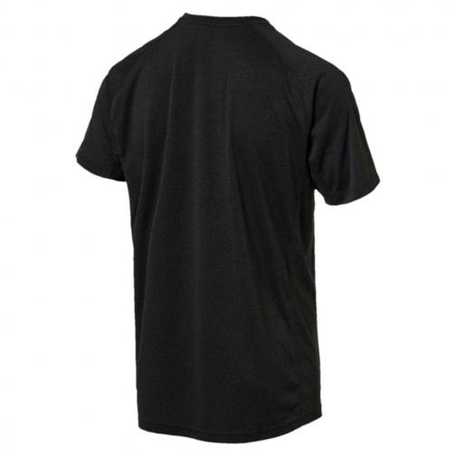 Puma T-shirt Nightcat S/s puma black Heather Tifoshop