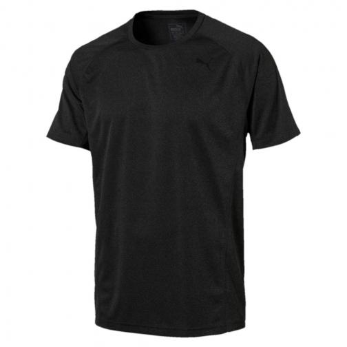 Puma T-shirt Nightcat S/s puma black Heather