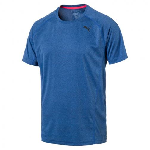 Puma T-shirt Nightcat S/s true blue Heather