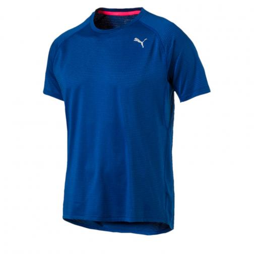 Puma T-shirt Speed S/s TRUE BLUE Heather