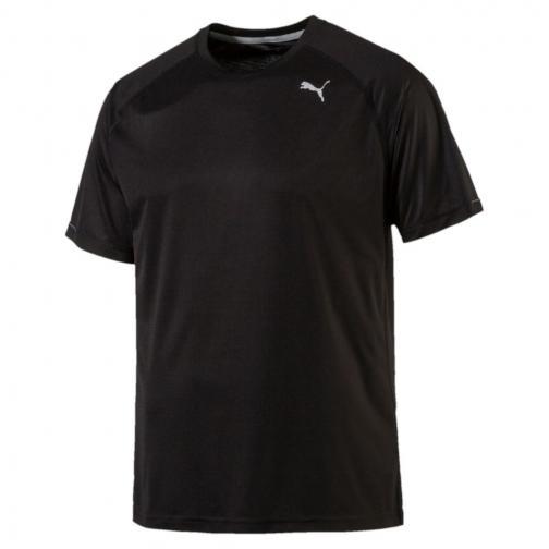 Puma T-shirt Core-run S/s Nero