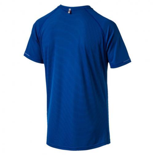 Puma T-shirt Core-run S/s TRUE BLUE Tifoshop