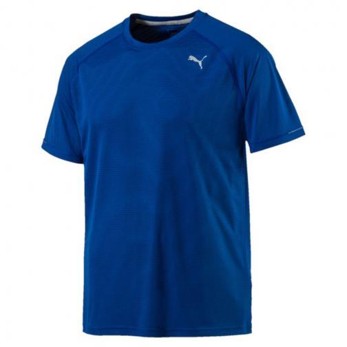 Puma T-shirt Core-run S/s TRUE BLUE