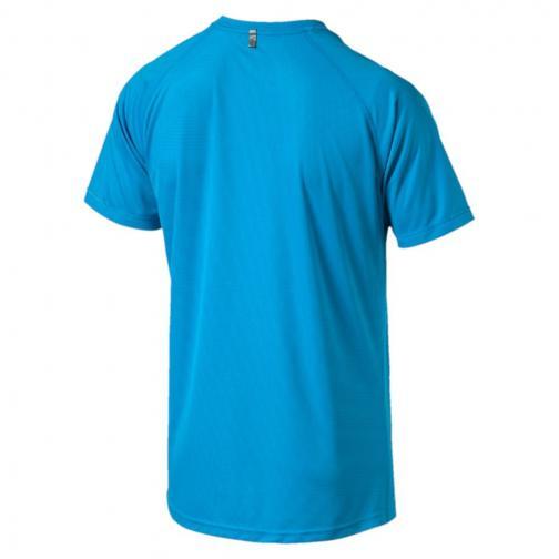 Puma T-shirt Core-run S/s BLUE DANUBE Tifoshop