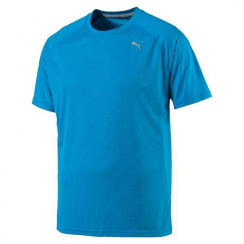Puma T-shirt Core-run S/s BLUE DANUBE