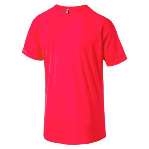 Puma T-shirt Core-run S/s Rosso Tifoshop
