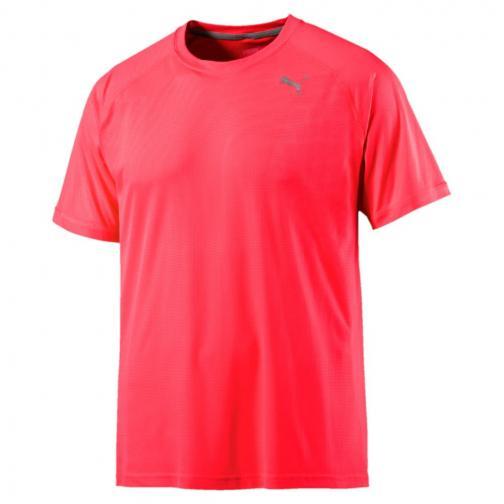 Puma T-shirt Core-run S/s Rosso