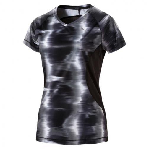 Puma T-shirt Graphic S/s  Femmes Puma Black Heather