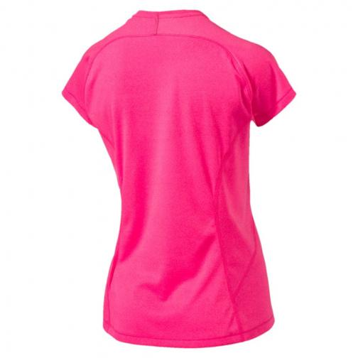 Puma T-shirt Nightcat S/s  Femmes knockout pink heather Tifoshop