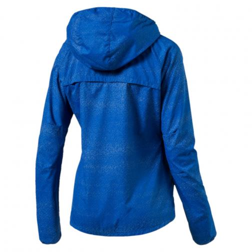 Puma Jacke Nightcat  Damenmode TRUE BLUE-heather Tifoshop