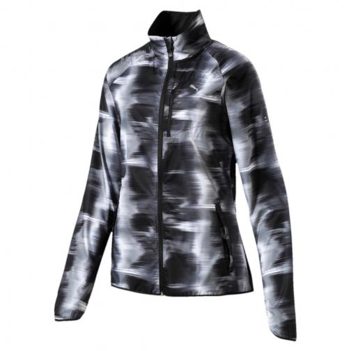 Puma Jacket Lastlap Graphic  Woman Puma Black-Black AOP