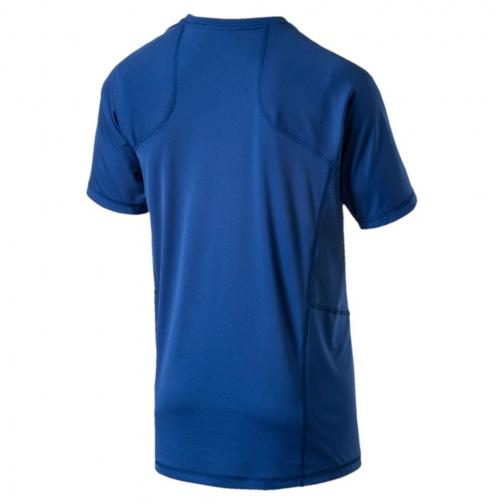 Puma T-shirt Vent Cat Blu Tifoshop