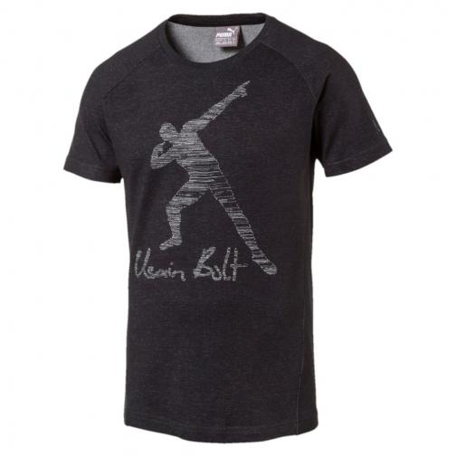 Puma T-shirt Ub Legend   Usain Bolt Cotton Black