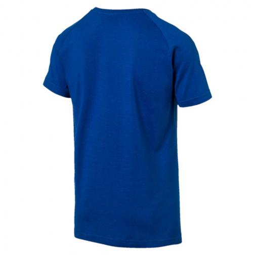 Puma T-shirt Ub Legend   Usain Bolt Blu Tifoshop