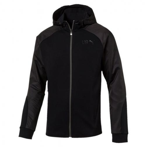 Puma Sweatshirt Ub Legend Fz   Usain Bolt Cotton Black
