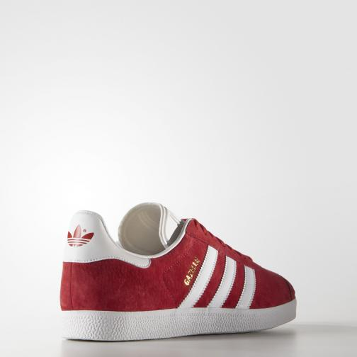 Adidas Originals Chaussures Gazelle  Unisex Scarlet/Footwear White/Gold Metallic Tifoshop
