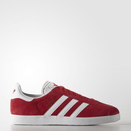 Adidas Originals Chaussures Gazelle  Unisex Scarlet/Footwear White/Gold Metallic