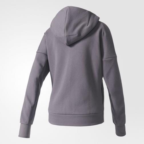 Adidas Sweatshirt Z.n.e. Hoody  Woman Trace Grey Tifoshop
