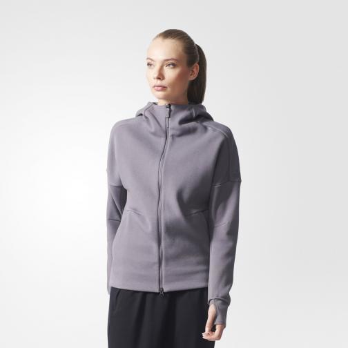 Adidas Sweatshirt Z.n.e. Hoody  Woman Trace Grey