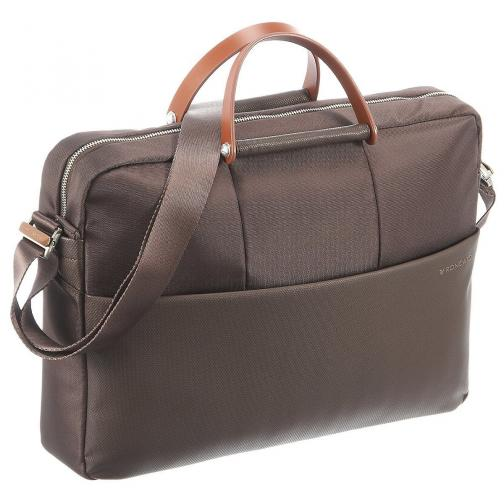 Laptop Briefcase  DARK BROWN Roncato
