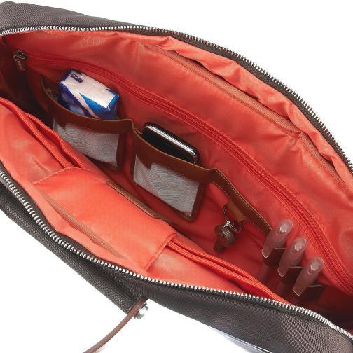 Laptop Briefcase  DARK BROWN Roncato
