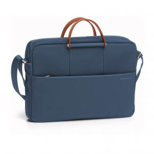 LAPTOP BRIEFCASE  BLUE DENIM