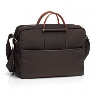 LAPTOP BRIEFCASE  DARK BROWN