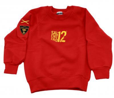 Lecce Calcio Merchandising Sweatshirt  Lecce Juniormode RED