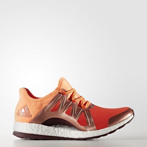 Adidas Shoes Pureboost Xpose  Woman energy s17/glow orange s14/maroon