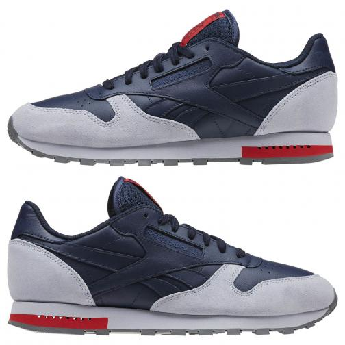 Reebok Scarpe Cl Leather BLU Tifoshop