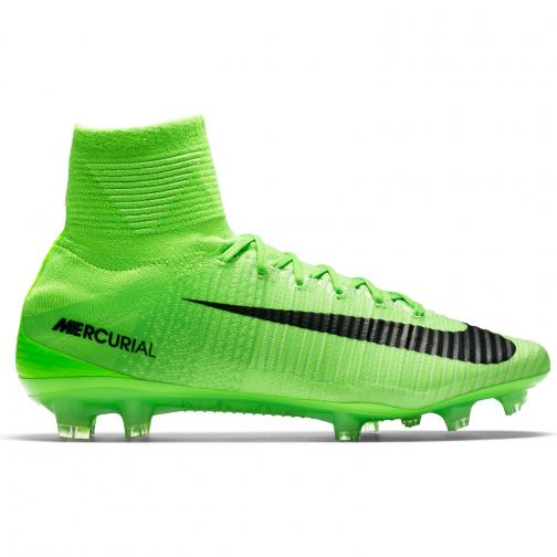 Nike Chaussures De Football Mercurial Superfly V Fg ELECTRIC GREEN/BLACK-GHOST GREEN-WHITE