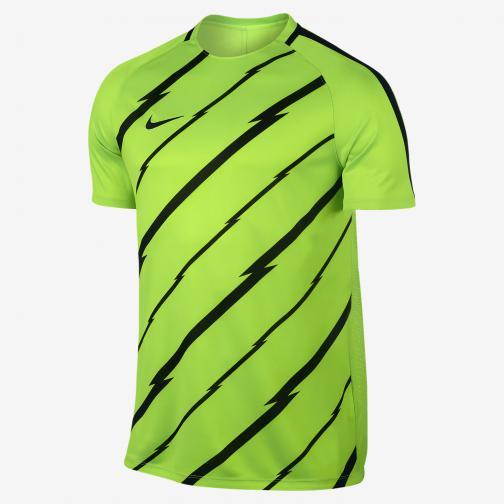 Nike T-shirt Dry Squad ELECTRIC GREEN/BLACK/BLACK