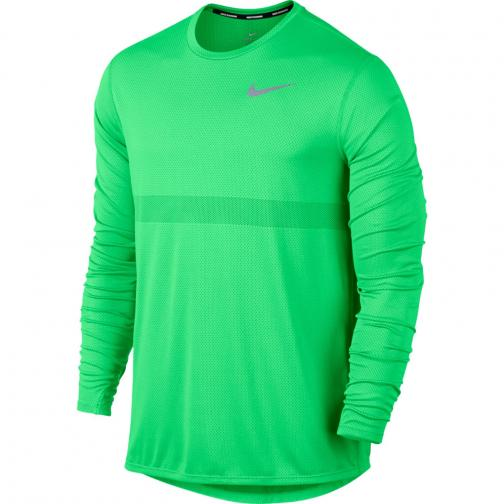 Nike Maglia Zonal Cooling Relay Verde