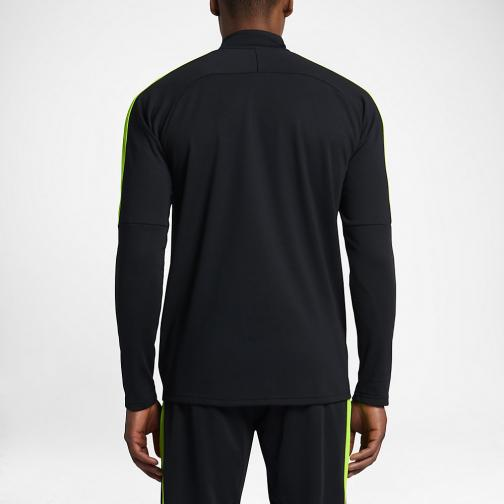 Nike Sweater Dry Academy BLACK/ELECTRIC GREEN/ELECTRIC GREEN Tifoshop