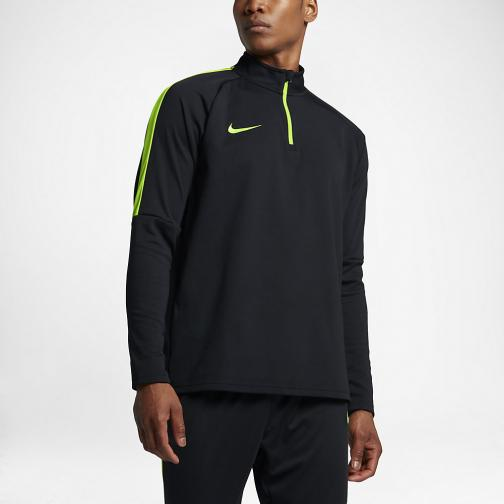 Nike Sweater Dry Academy BLACK/ELECTRIC GREEN/ELECTRIC GREEN