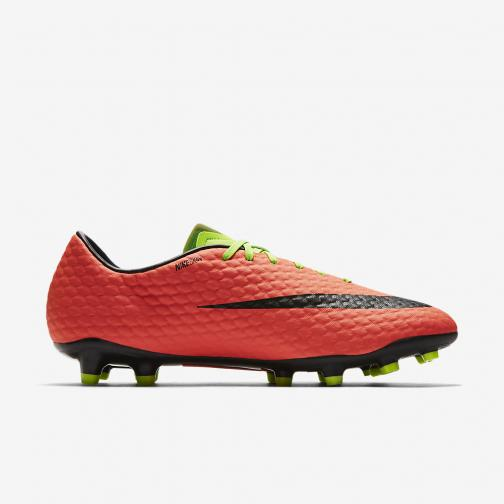 Nike Football Shoes Hypervenom Phelon Iii Fg ELECTRIC GREEN/BLACK-HYPER ORANGE-VOLT