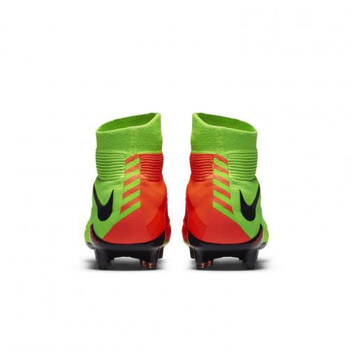 Nike Chaussures De Football Hypervenom Phantom Iii Dynamic Fit Fg ELECTRIC GREEN/BLACK-HYPER ORANGE-VOLT Tifoshop