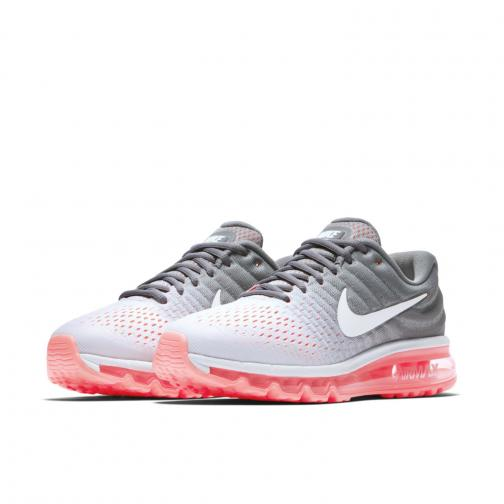 Nike Chaussures Air Max 2017  Femmes PURE PLATINUM/WHITE-COOL GREY-HOT LAVA Tifoshop