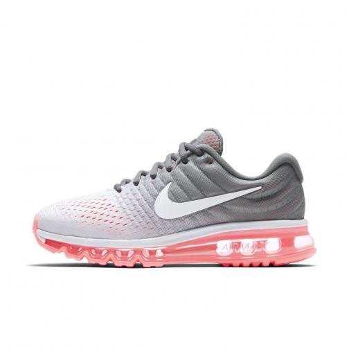 Nike Chaussures Air Max 2017  Femmes PURE PLATINUM/WHITE-COOL GREY-HOT LAVA