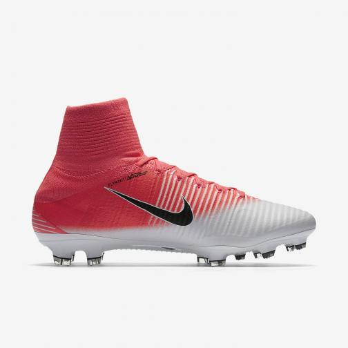 Nike Chaussures De Football Mercurial Superfly V Fg RACER PINK/BLACK-WHITE Tifoshop