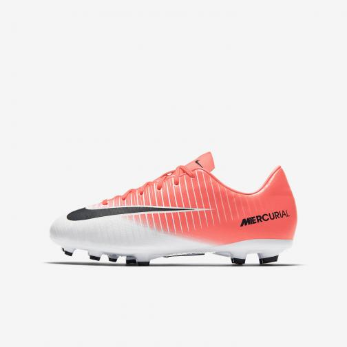 Nike Chaussures De Football Mercurial Victory Vi Fg  Enfant RACER PINK/BLACK-WHITE