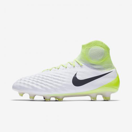 Nike Scarpe Calcio Magista Obra Ii Fg Bianco