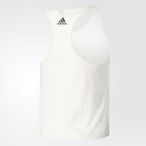 Adidas Débardeur Image  Femmes WHITE Tifoshop