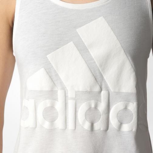 Adidas Tank Top Image  Woman WHITE Tifoshop