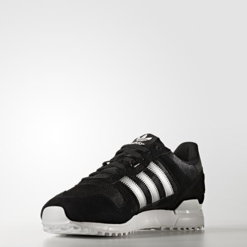 Adidas Originals Shoes Zx 700 core black/matte silver/utility black Tifoshop