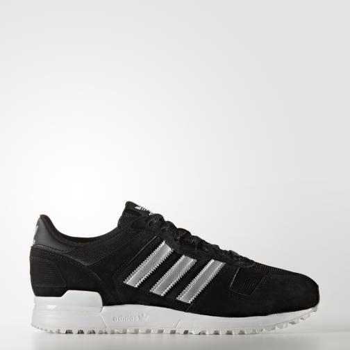 Adidas Originals Shoes Zx 700 core black/matte silver/utility black