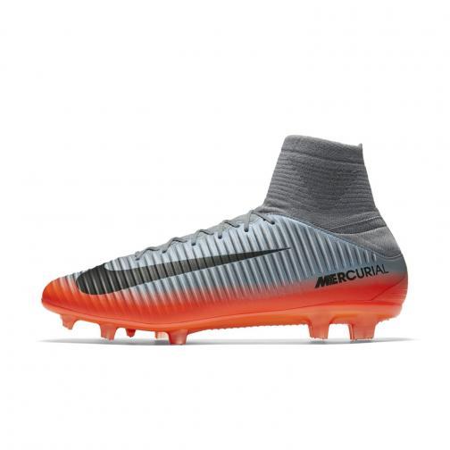 Nike Scarpe Calcio Mercurial Veloce Iii Dynamic Fit Cr7 Fg   Cristiano Ronaldo Grigio